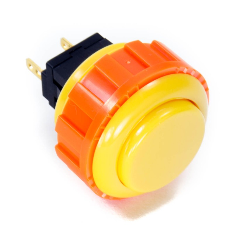 Sanwa OBSN-24 Screw-in Button - Yellow