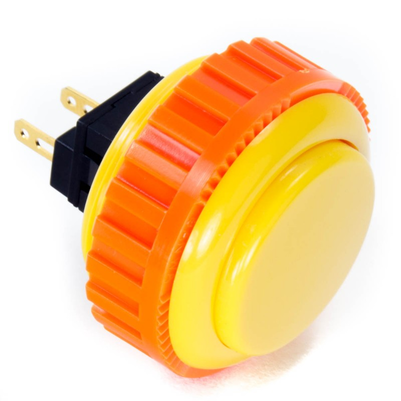 Sanwa OBSN-30 Screw-in Button - Yellow