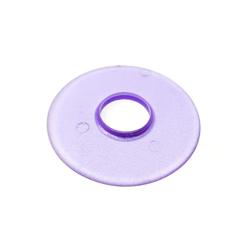 Seimitsu Clear Violet Shaft Cover and Dust Cover Kit