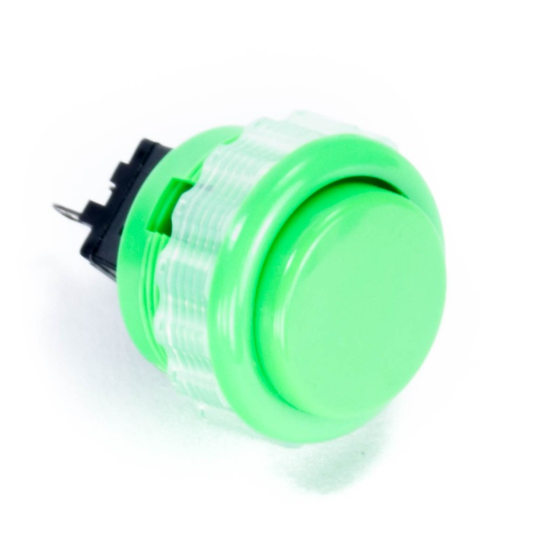 Seimitsu PS-14-DN 24 mm Screw-in Button - Green