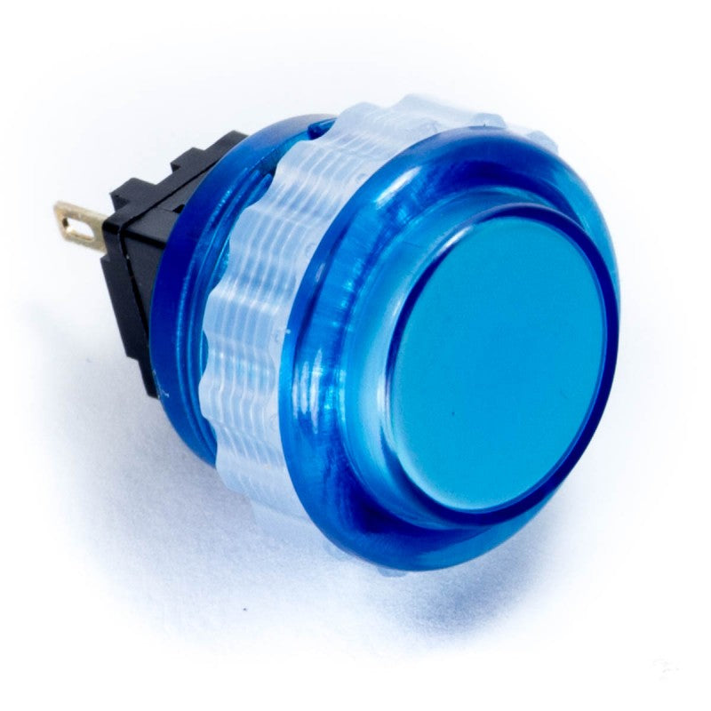 Seimitsu PS-14-DNK 24 mm Screw-in Button - Clear Blue
