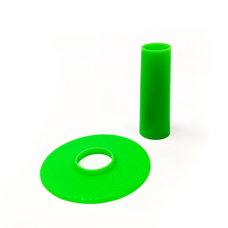 Seimitsu Solid Green Shaft Cover and Dust Cover Kit