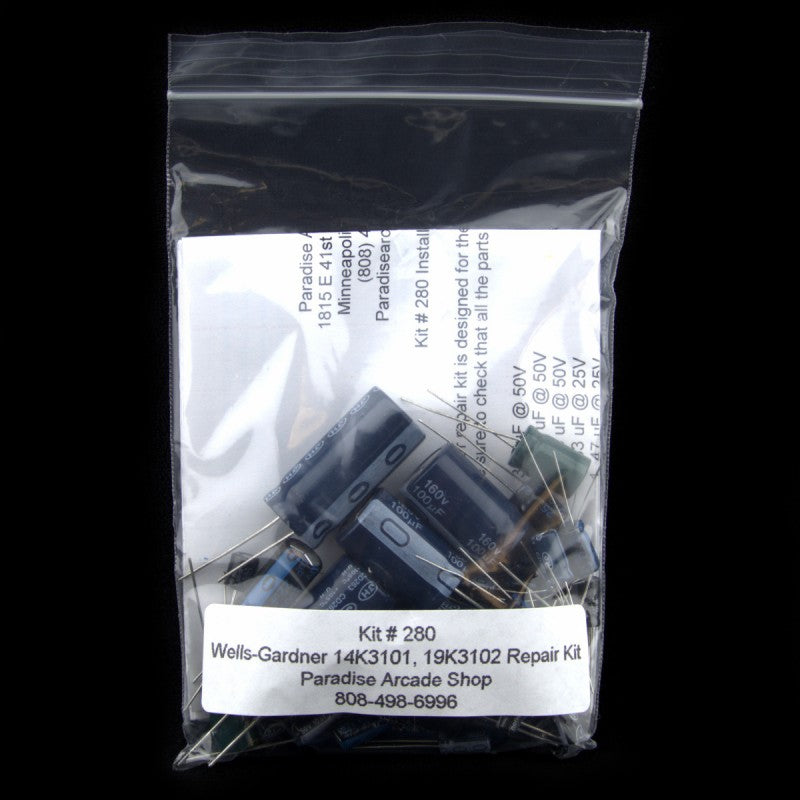 W-G 14K3101 and 19K3102 Monitor Repair Kit by Zanen
