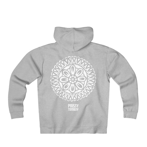 Donate $100 to our Prissy Tomboy initiatives and receive a Adult Heavyweight Fleece Zip Hoodie