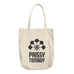 Prissy Tomboy Cotton Tote Bag
