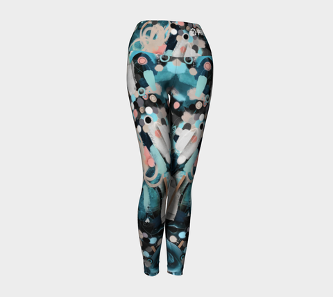 PRISSY TOMBOY ABSTRACT Yoga Pants
