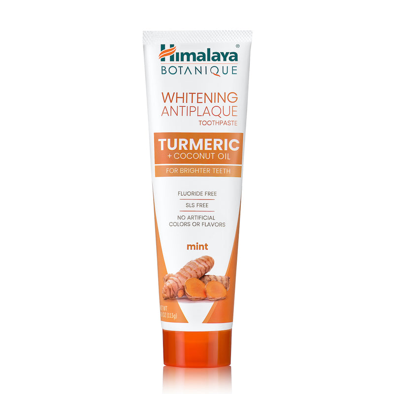Turmeric & Coconut Oil Whitening Antiplaque Toothpaste