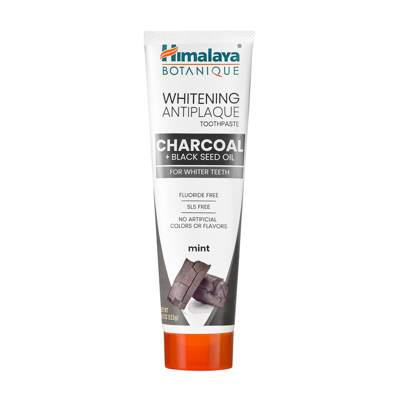 Charcoal & Black Seed Oil Whitening Antiplaque Toothpaste