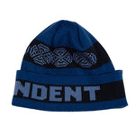 Inde Woven Crosses Fold Over Beanie Long Shoreman Hat
