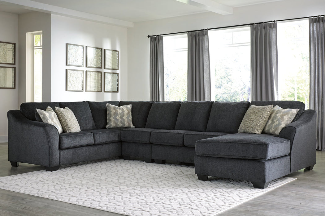 Eltmann Signature Design by Ashley 4-Piece Sectional with Chaise
