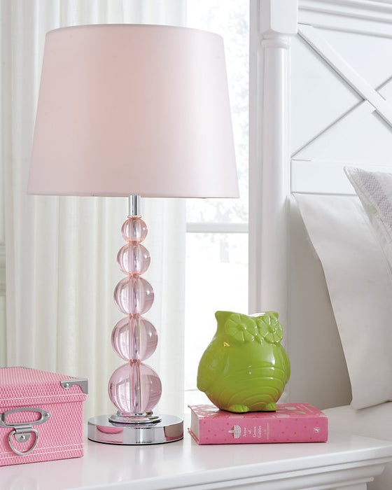 Letty Signature Design by Ashley Table Lamp Youth