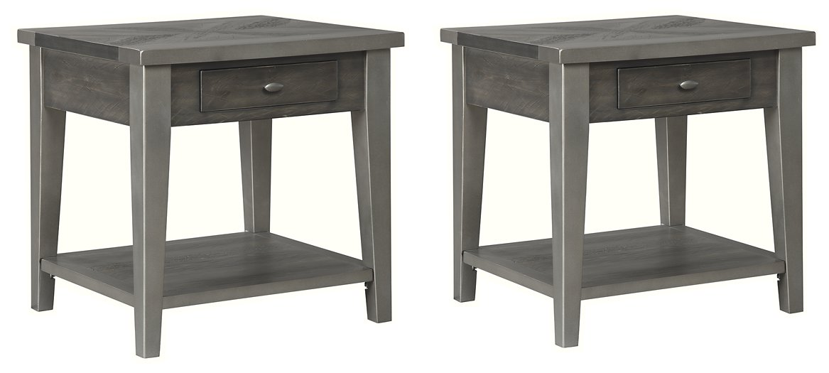 Branbury Signature Design 2-Piece End Table Set