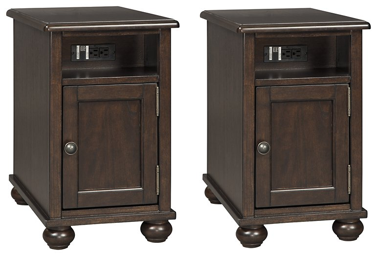 Barilanni Signature Design 2-Piece End Table Set