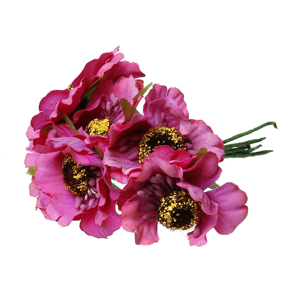 Artificial Flower Chrysanthemum for Millinery or Decoration