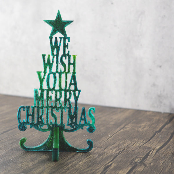 Christmas Tree Silicone Mould For Resin Art