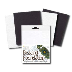 Small Beading Foundation 2 Black and 2 White Sheets  BFMX4.5-4-1