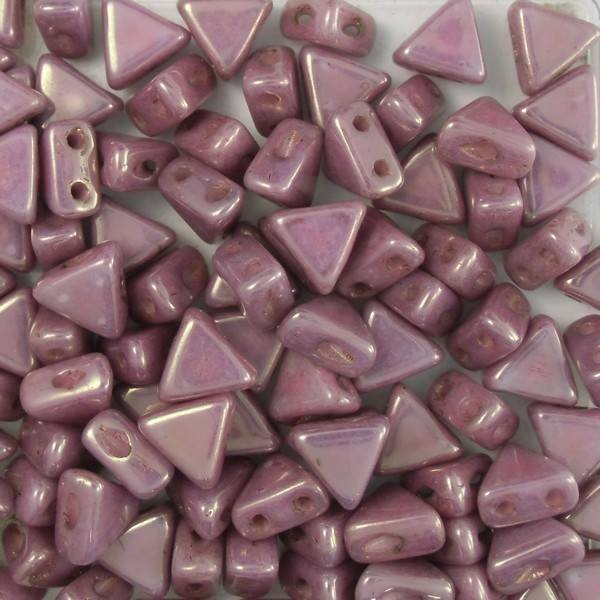 Opaque Mix Violet Gold Luster Kheops par Puca® Glass Beads 9 grams
