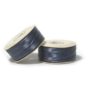Royal Blue Nymo Beading Thread Size B - One Bobbin