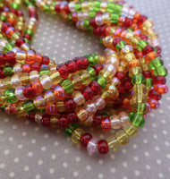 Tango 6/0 Czech Glass 4.1 mm Beads – 6 Strands of 150 Beads