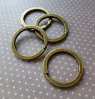 Bronze Key Split Ring Pack of 10