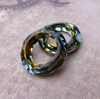 Swarovski Cosmic Ring Tabac 20 mm