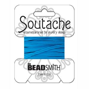 Rayon Soutache Peacock Blue 3 yards