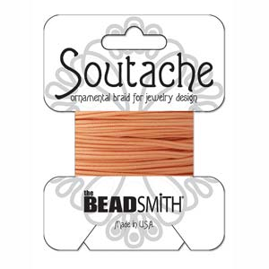 Rayon Soutache Peach 3 yards