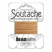 Rayon Soutache Deep Beige 3 yards