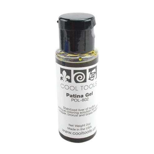 Liver of Sulphur Patina Gel by Cool Tools 56 ml Bottle