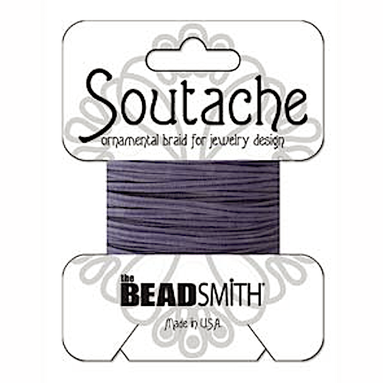 Rayon Soutache Navy 3 yards