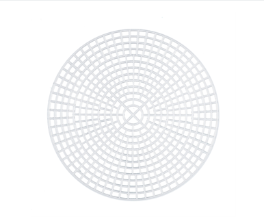 Round Plastic Canvas 11.25cm - 5 Sheets