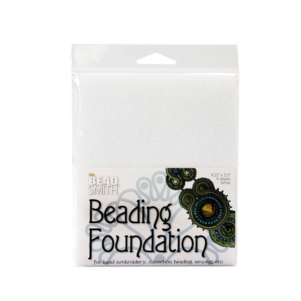 Small Beading Foundation 4 White Sheets