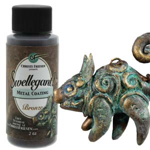 Swellegant Metal Coating Bronze 2 oz Bottle