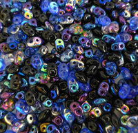 Matubo Superduo Beads Czech Glass Midnight