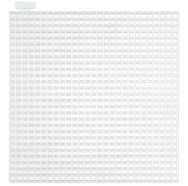 7 Count Square Plastic Canvas  10 x 10 cm Pack of 5