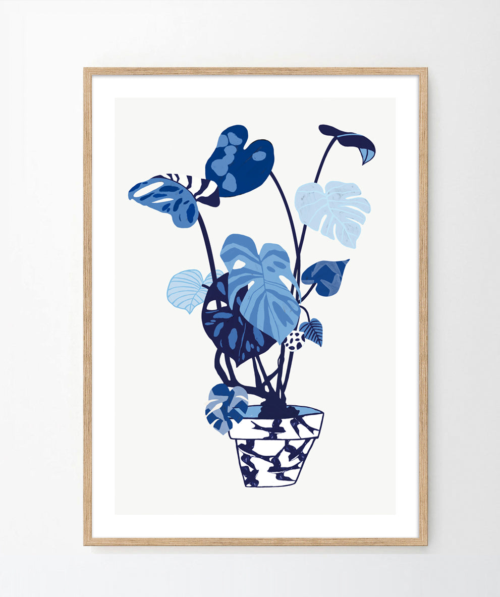 'Monstera Deliciosa' Art Print