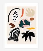 Load image into Gallery viewer, 'Playful nature shapes' Art Print