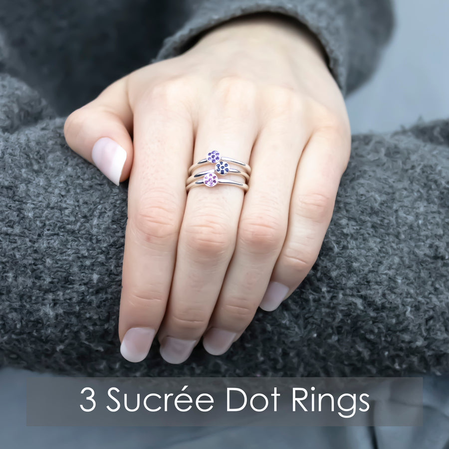 Sucrée Dot Ring | Natural Ruby