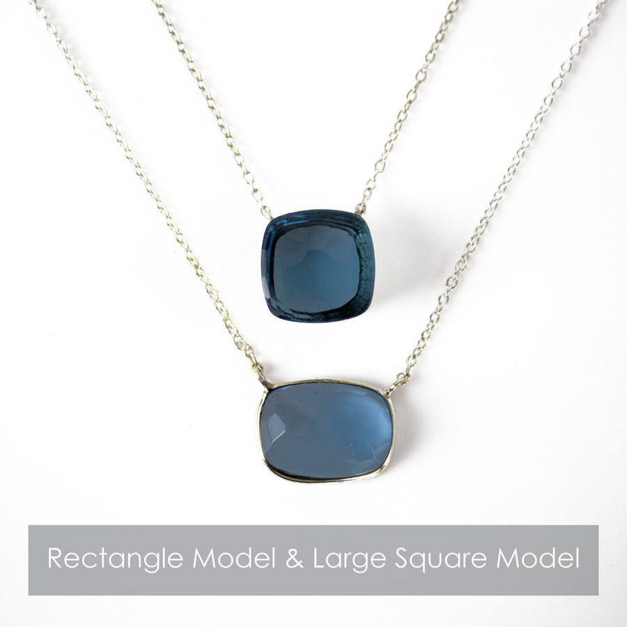 Sucrée Necklace | Prasiolite | Large Model - LIMITED EDITION