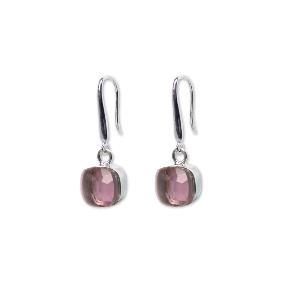 Sucrée Earrings | Lavender Amethyst | Small Model