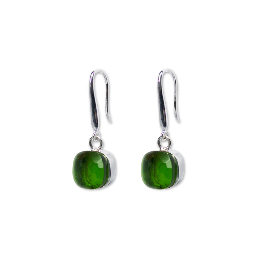 Sucrée Earrings | Peridot Quartz | Small Model