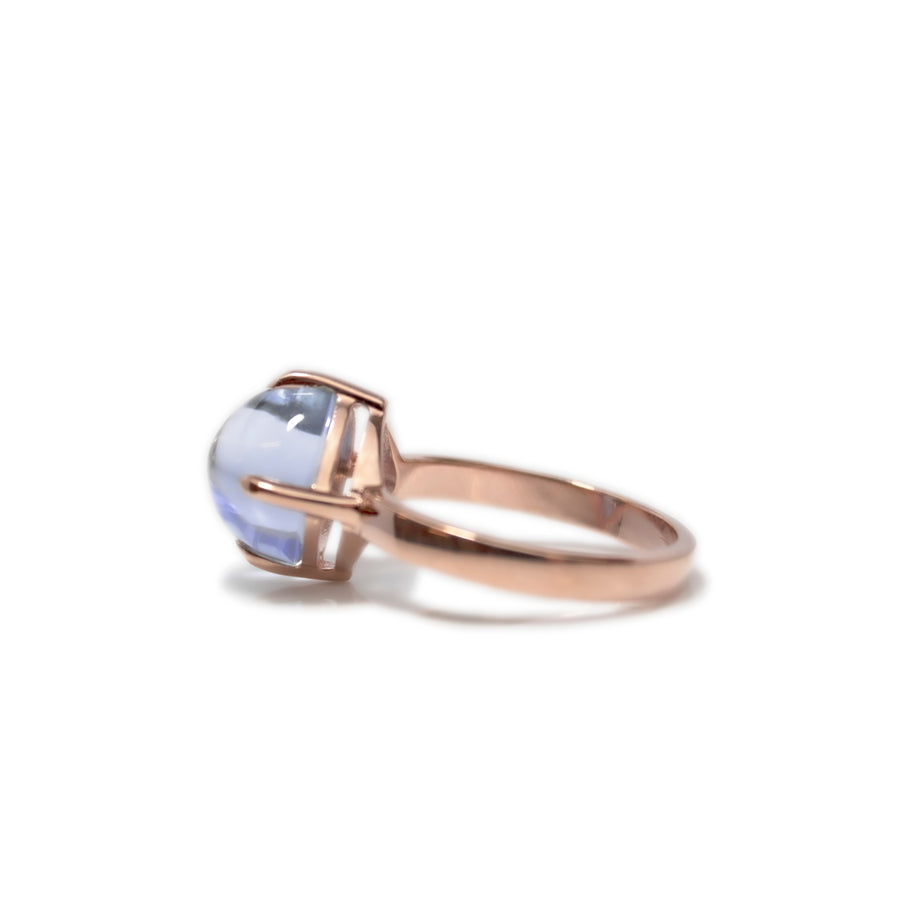 Sugarloaf Ring | Swiss Blue | Small Model