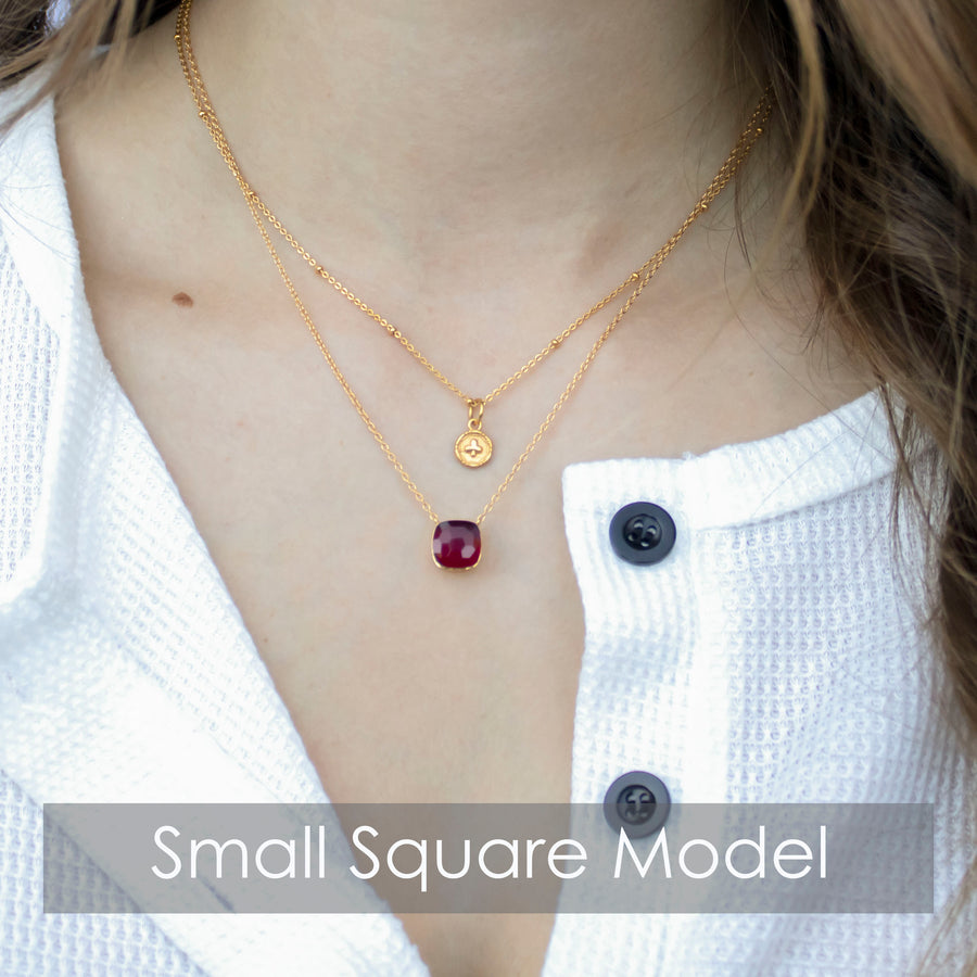 Sucrée Necklace | Lavender Amethyst | Small Model - LIMITED EDITION