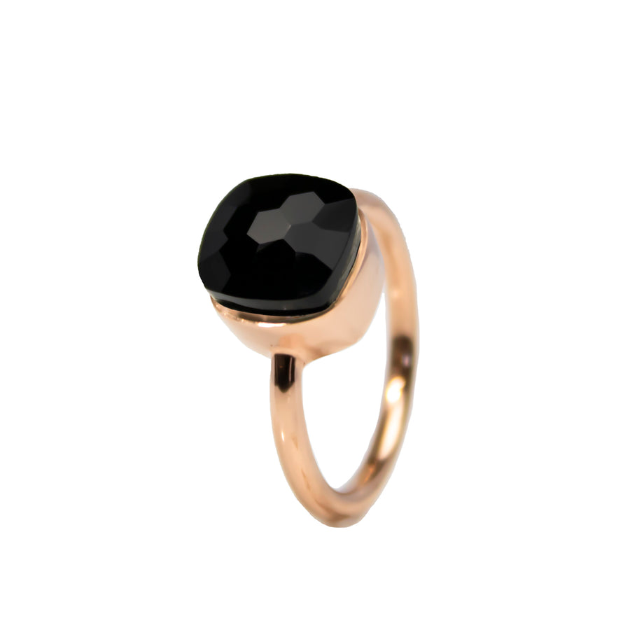 Sucrée Ring | Natural Black Onyx | Small Model