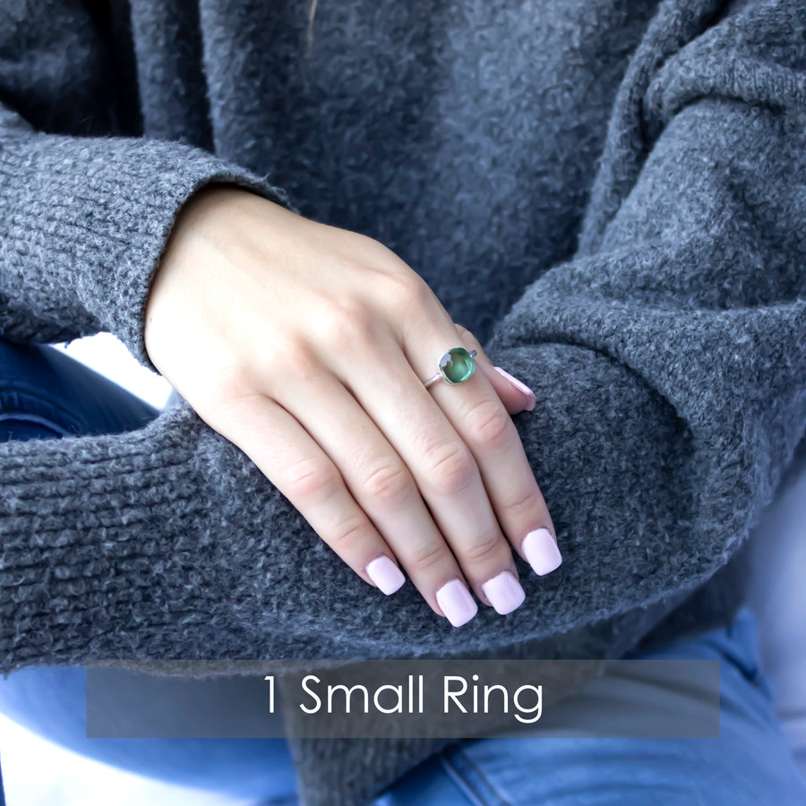 Sucrée Ring | Sapphire Quartz | Small Model - NEW!