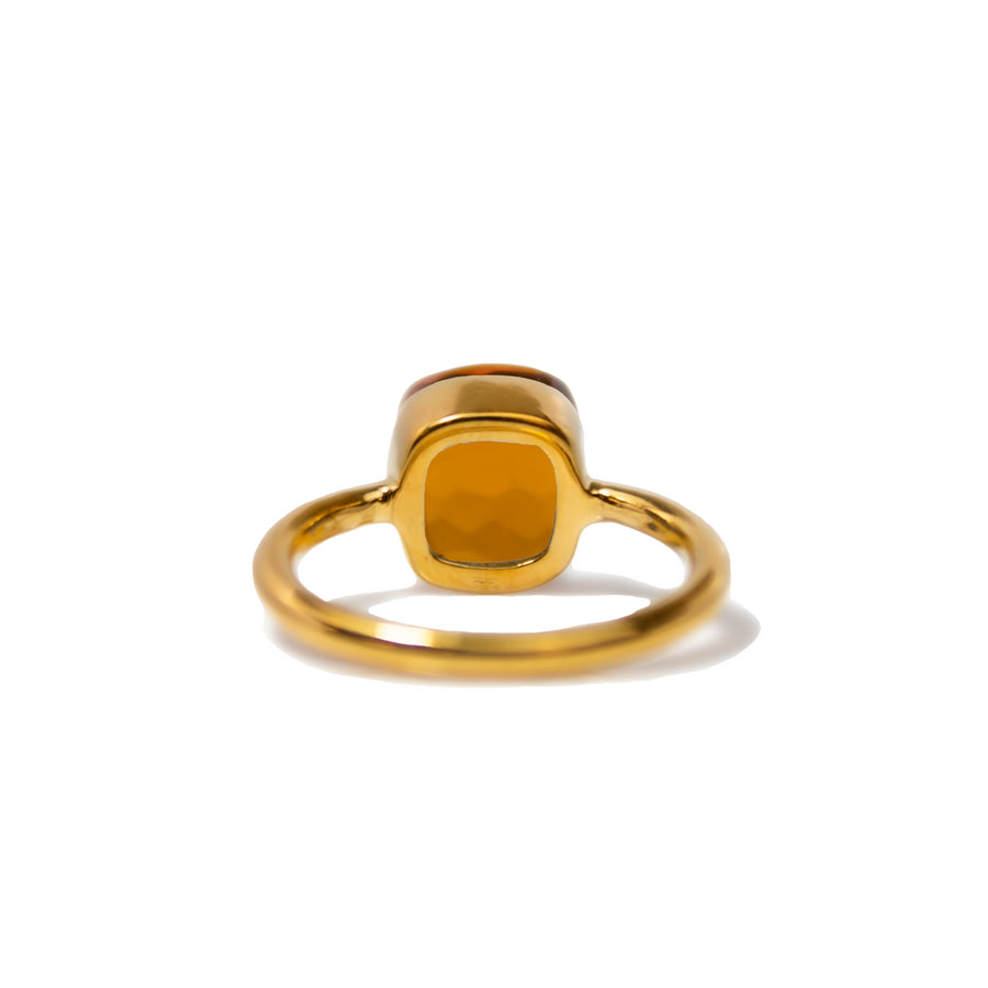 Sucrée Ring | Amber Citrine | Small Model