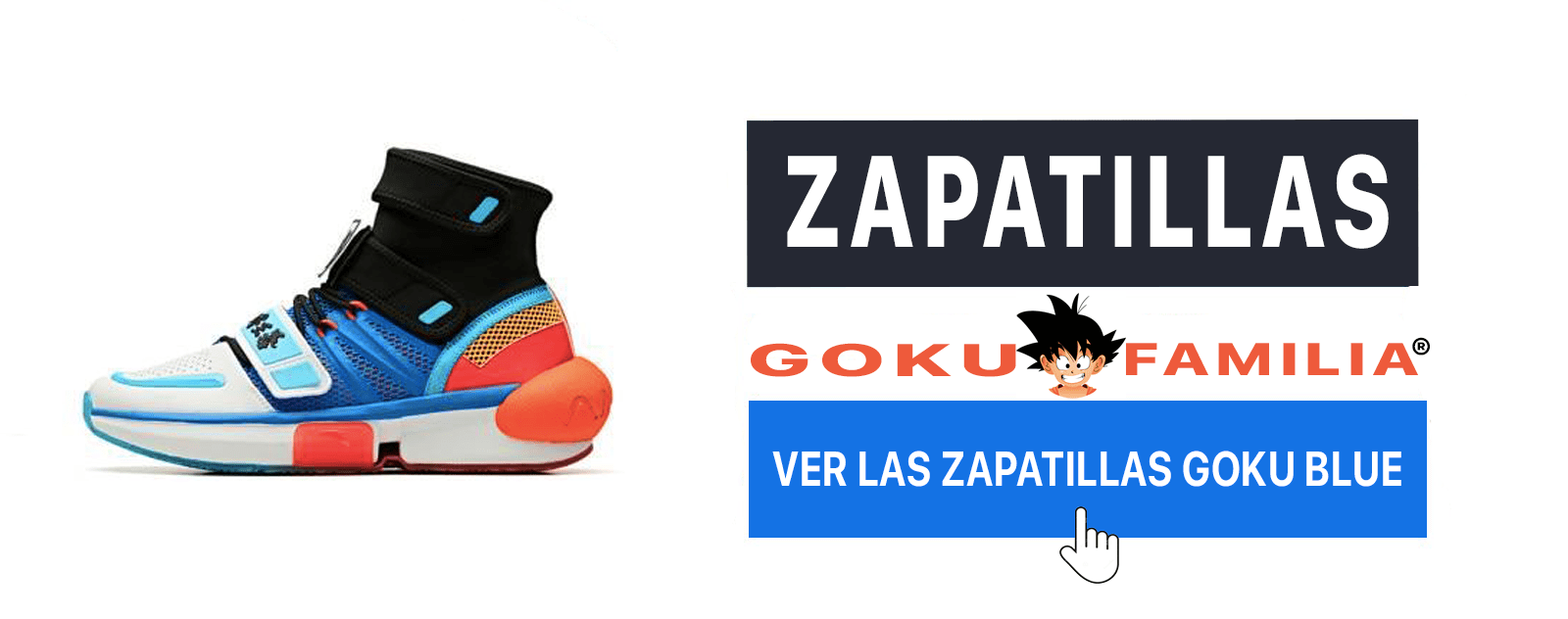 Zapatillas Goku SSJ Blue