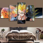cuadros-dragon-ball-majin-vegeta