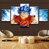 pintura-dragon-ball-blue-goku
