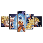 pintura-dragon-ball-saiyano